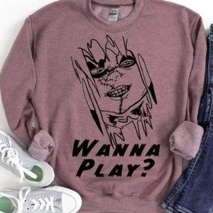 Chucky Wanna Play Sweatshirt